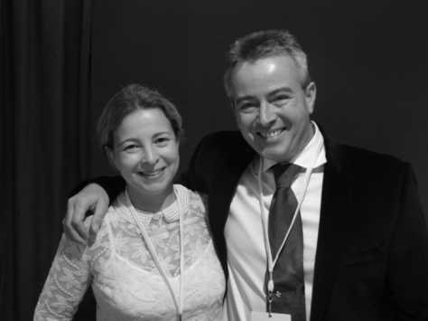 Vincent Maurel et sa femme, Karine